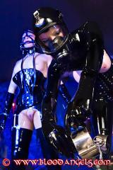 NEON ART girl Daniela with slavegirl