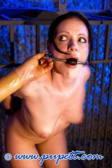 NEON ART girl OLGA silenced